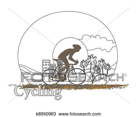 手绘图 循环, 心不在焉地乱写乱画, 海报 -手绘图 循环, 心不在焉