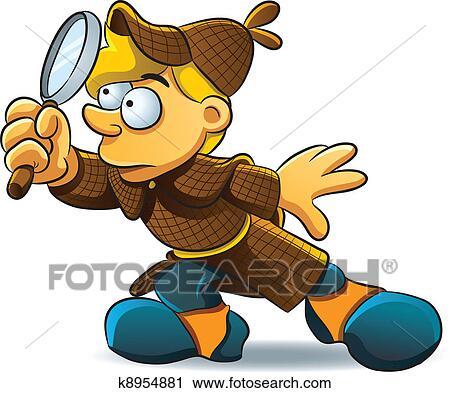 Detective Clip Art EPS Images. 2,020 detective clipart vector ...