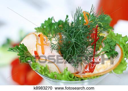 Салаты, закуски с фото