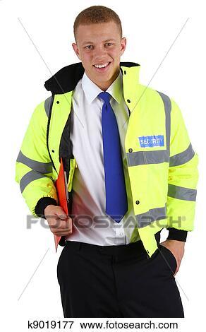 Security Guard Clipboard Clip Art