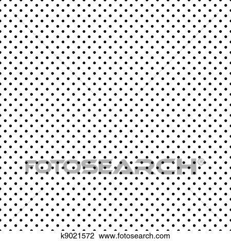 Clipart - Seamless, negro, lunares, blanco k9021572 - Buscar Clip ...