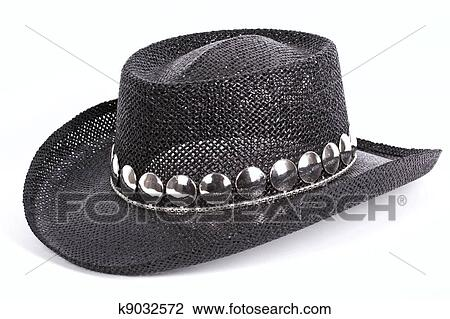 Straw Cowboy Hat Black Black Cowboy Straw Stetson Hat