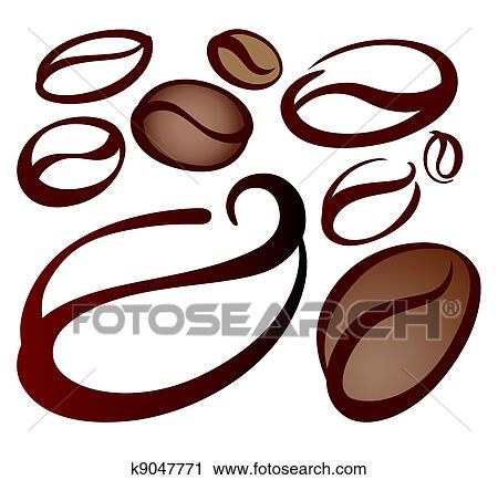 Coffee bean Clipart Illustrations. 15,944 coffee bean clip art ...