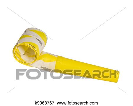 Picture Of Party Favor Horn Isolated K9068767