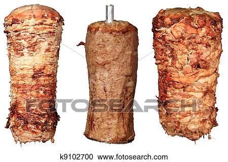 Banques de photographies m lange de chiche kebab for Cuisinier kebab