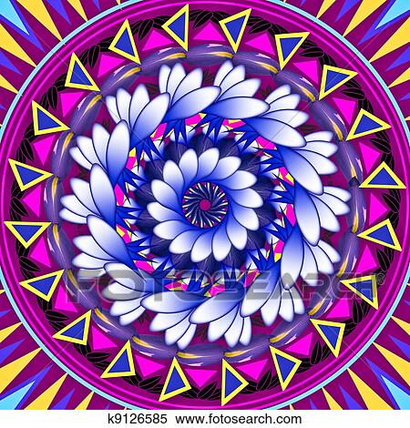 Dessin Decoration Circulaire