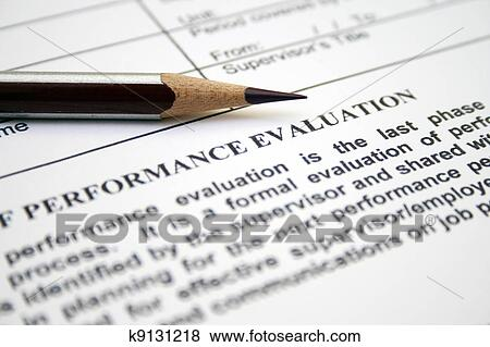 Pictures Of Performance Evaluation Form K9131218 - Search Stock