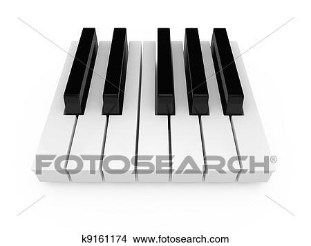 手绘图 - 钢琴
