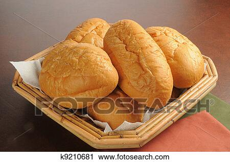 Stock Photography of Dinner rolls k9210681 - Search Stock ...