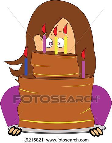 剪贴画 生日蛋糕