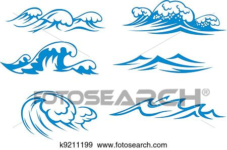 ocean waves graphics