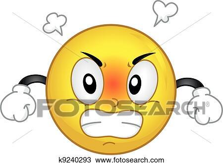 Zorniger Smiley