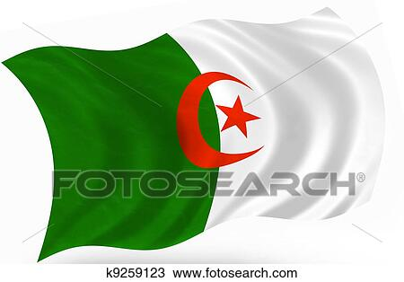 手绘图 - algeria