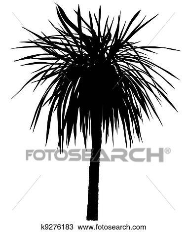 Clipart palmier silhouette k9276183 recherchez des clip arts des illustrations des - Palmier clipart ...