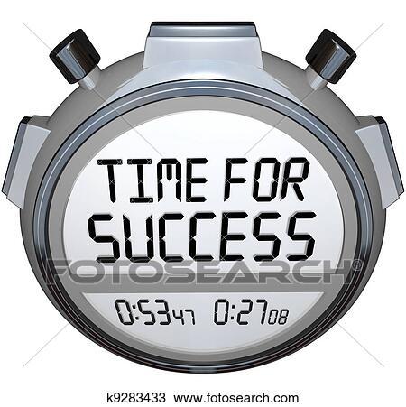 Dessin temps pour reussite mots chronom tre - Chronometre et minuteur ...