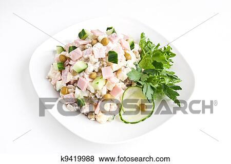 Фото салаты в русской посуде