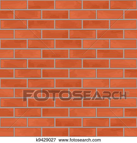 Clip Art Brick Wall Clip Art clip art of seamless brick wall background k9429027 search fotosearch clipart illustration posters