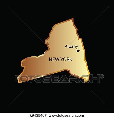 Staat New York Usa Clip Art New York Staat Usa