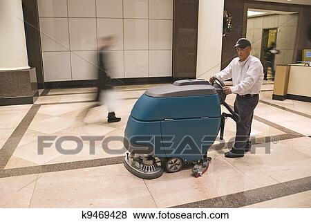 Pictures of floor cleaning k9469428 search stock photos for Floor operator