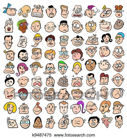 Cute People Clipart Clipart People Face