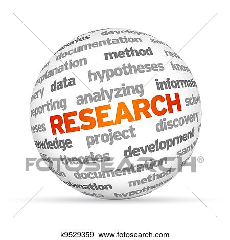 stock illustration of research k9529359 search vector