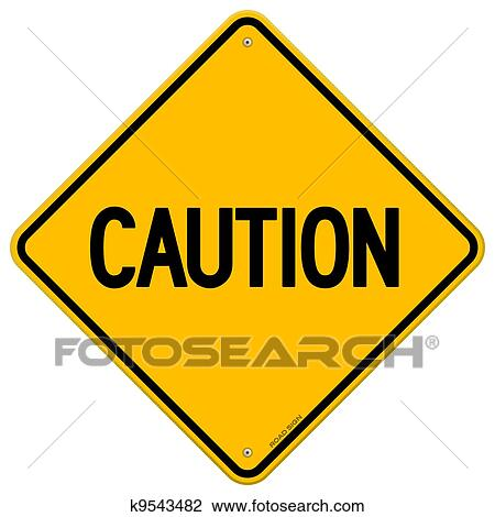 clipart of caution yellow sign k9543482 search clip art rh fotosearch com caution tape clipart border caution clipart sign