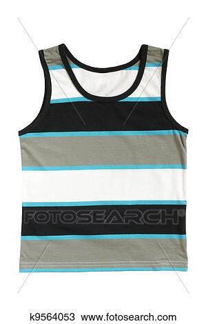Stock Photo of Sleeveless children's shirt k9564053 ...