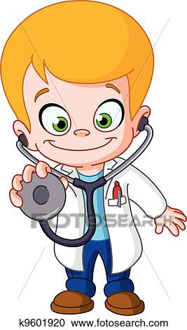 Clipart of Kid doctor k9601920 - Search Clip Art ...
