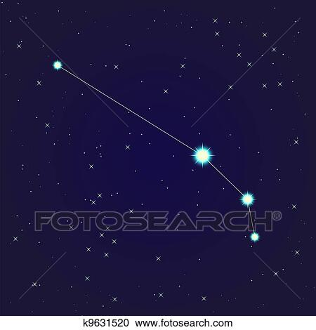clipart of aries constellation k9631520 search clip art