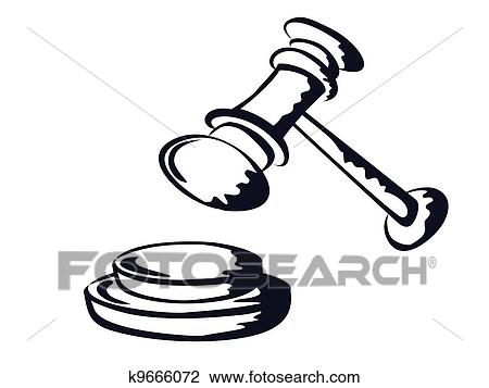 clipart of judge gavel sketch shape vector from k9666072 search rh fotosearch com clipart auction gavel clipart auction gavel