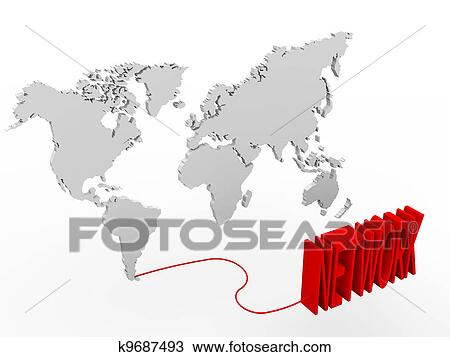 a, 世界地图
