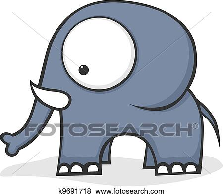 Clipart of Big-eyed turtle k7046225 - Search Clip Art ...