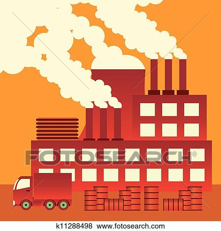 Clip art air pollution fotosearch search clipart illustration posters drawings