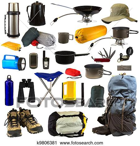 Stock Photography Of Camping Gear K9806381