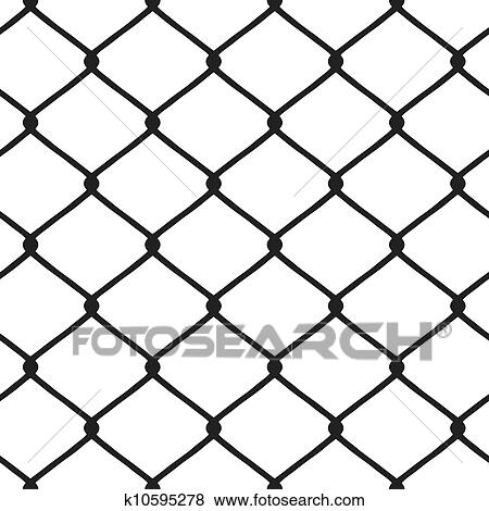 chain link fence vector. Clip Art - Chain Link Fence Vector. Fotosearch Search Clipart, Illustration Posters, Vector L
