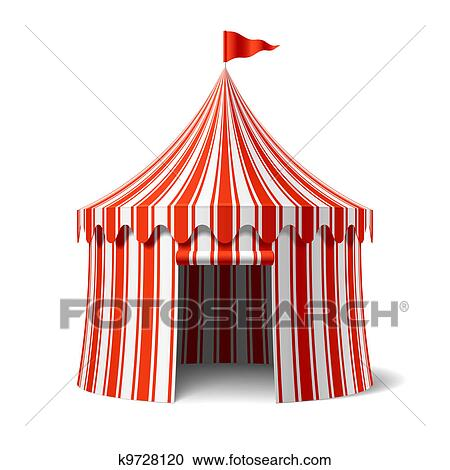 Clipart - Circus tent. Fotosearch - Search Clip Art Illustration Murals Drawings and  sc 1 st  Fotosearch & Clipart of Circus tent k9728120 - Search Clip Art Illustration ...