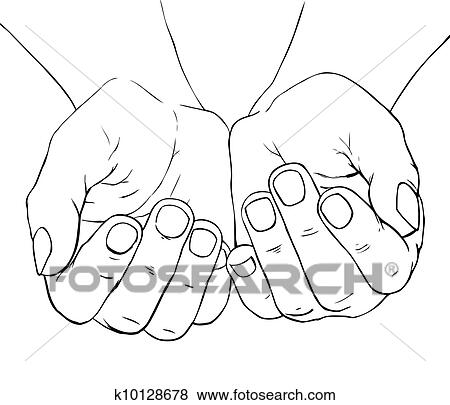 how to draw female hands