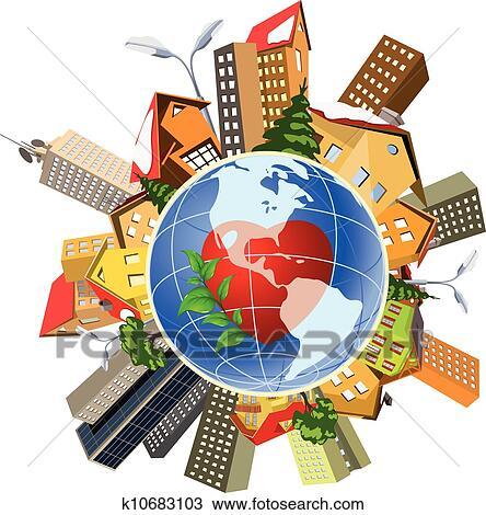 clipart of earth perfect precise machine world population human rh fotosearch com Question Clip Art Person Clip Art