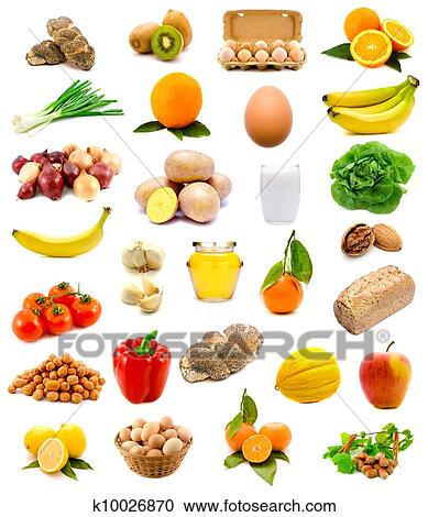 stock photography of healthy food k10026870 search stock photos rh fotosearch com healthy foods clipart healthy foods clipart black and white