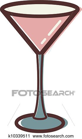 clipart of illustration of a martini glass k10339511 search clip rh fotosearch com clip art martini glass free martini glass clipart png