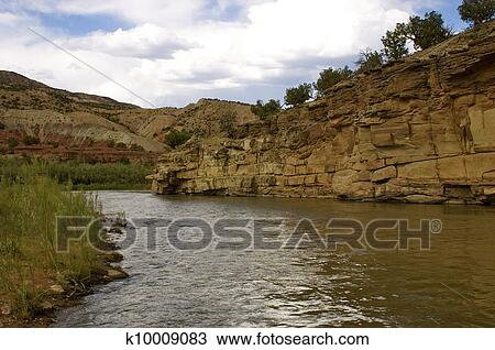 Stock Photo of Rio Grande/ River k10009083 - Search Stock ...