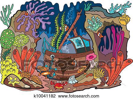 儿童画珊瑚胶图片
