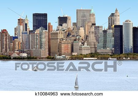 Stock photo of travel photos of new york manhattan for Bank ballroom with beautiful mural nyc