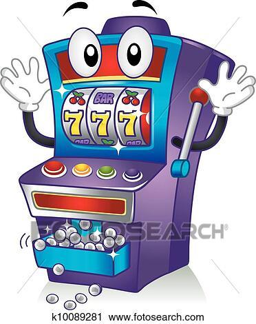 slot machine drawing