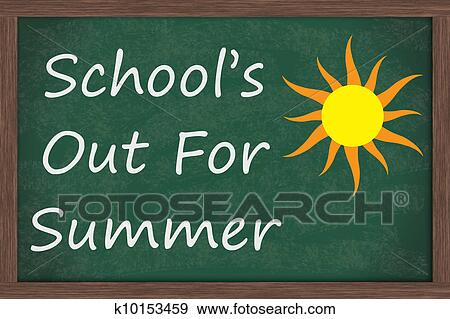 Stock Photograph of Schools Out for Summer k10153459 - Search ...