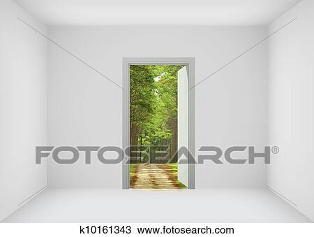 Dessin porte ouverte les nouveau monde pour for Porte ouverte dessin