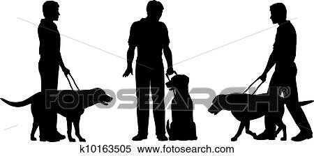 Blind person Clip Art Illustrations. 818 blind person clipart EPS ...