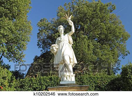 Stock Images Of Sculpture Of Ceres Greek Demeter