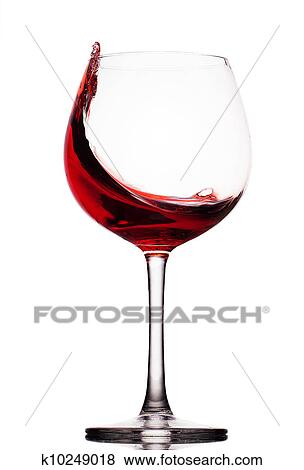 images en mouvement vin rouge verre sur a fond blanc k10249018 recherchez des photos. Black Bedroom Furniture Sets. Home Design Ideas