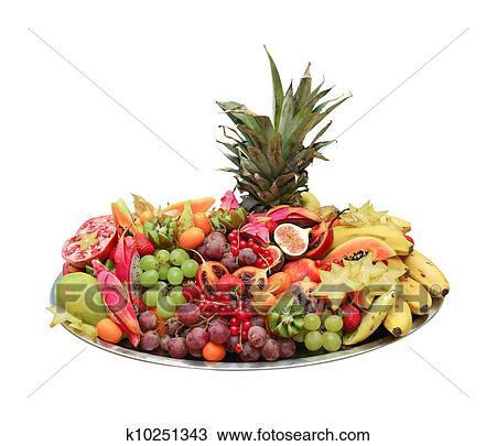 Archivio fotografico frutta esotica buffet k10251343 for Kiwi giallo piante acquisto